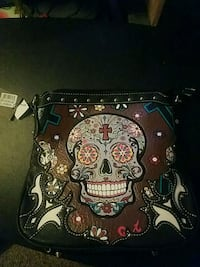 Concealed purse day of the dead