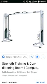 white and black Pro-Form treadmill screenshot Inman, 29349
