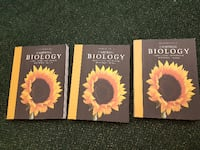 Biology books series 1,2 and 3 Mississauga