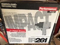 Ingersoll-Ran air impact wrench box Chesapeake