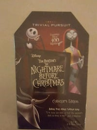 Nightmare before christmas trivial pursuit