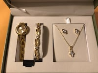 Watch and Jewelry Gift Set.  Great as a holiday gift.  Silver Spring, 20906