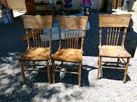 two brown wooden windsor chairs Prescott Valley, 86314