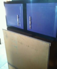 blue and white wooden cabinet Garretson, 57030