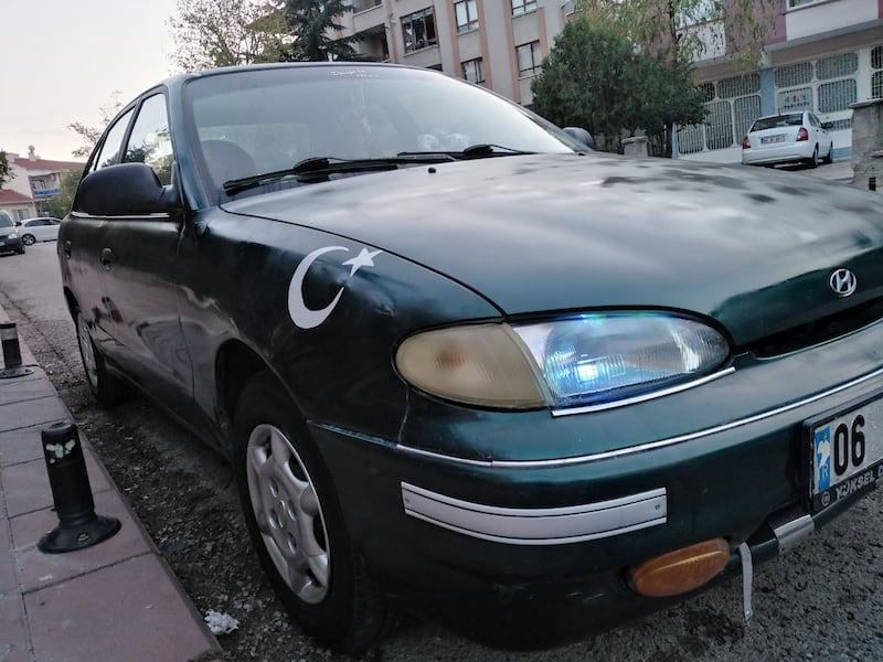 Hyundai Accent 1.5 GLS 1995 model 6