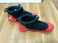 pair of black-and-red Air Jordan shoes Springfield, 22150