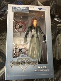 Axel kingdom hearts figure - new Naperville, 60563