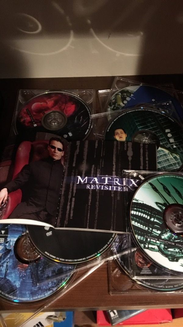 The Matrix series and booklet