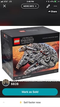 LEGO millennium falcon  New York, 10010