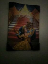 Disney Beauty and the Beast poster New London, 06320