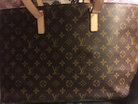 brown Louis Vuitton leather tote bag New Brunswick, 08901