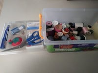 Sewing starter kit and spools of thread Cape Coral, 33991