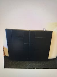 Full Black Leather Padded Headboard Bed, will Deliver ! Annandale