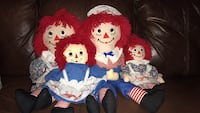 Lot of Raggedy Ann & Andy Dolls Dumfries, 22025