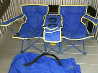 blue and red camping chairs New York, 10469