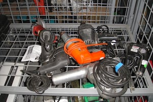 Lots of Various Power Tools Corded and Cordless