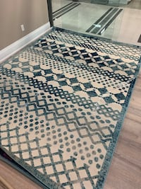 Modern area rug 8X10FT outdoor and indoor rug