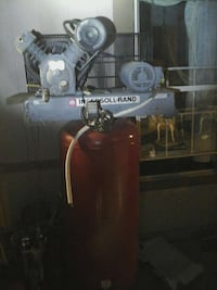 gray and red stand air compressor San Luis, 85349