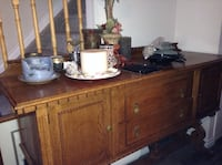 brown wooden dresser with mirror Barrie, L4N