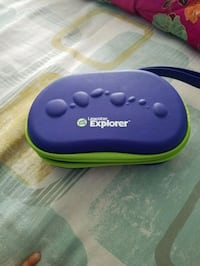 purple and green and purple plastic container Bristow
