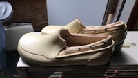 pair of white leather flats Cohutta, 30710