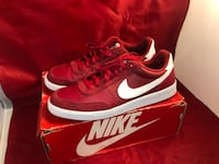 Red And White Nike Shoes Size  [PHONE NUMBER HIDDEN]   pre-owned Oxon Hill, 20745