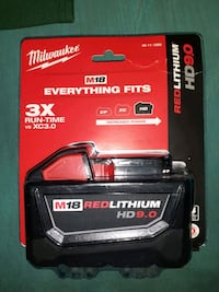 Milwaukee  HD battery  London, N5W 2L7