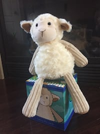 white sheep plush toy Brampton, L7A 2G7