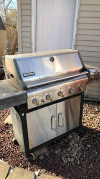stainless steel Char-Broil gas grill Fremont, 54940