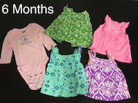 Baby girl clothes from 3 Months to 6 Months (9 pieces) Plantation, 33324