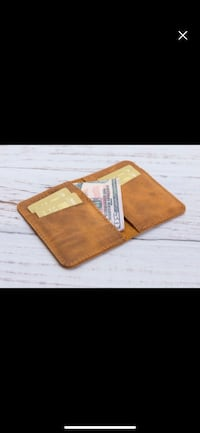 Leather card holder (new)
