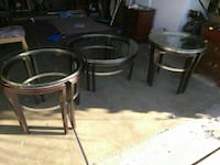 3 Piece living room table