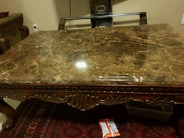 Coffee table with 2 End table