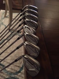 Golf Clubs Mizuno JPX 900 Hot Metal Irons LH