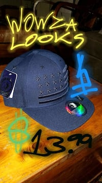 black and blue New Era snapback cap Roseville, 95678