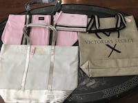 NEW Victoria's Secret Totes - $15 each or all Three for $40 Langley, V3A