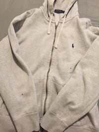 GRAY RALPH LAUREN HOODIE - GREAT CONDITION Fresno, 93722