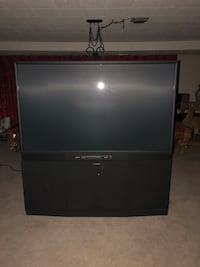 black Sony rear projection television Washington, 20024