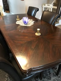 rectangular brown wooden dining table Cambridge, N1S 0B3