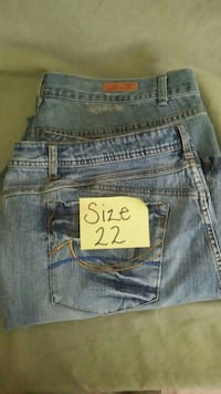 Torrid And Seven Jeans Size 22