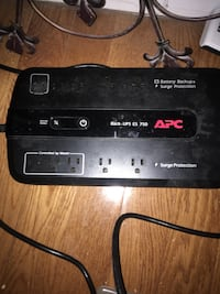 Battery backup surge protector by APC