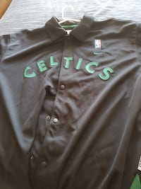 black Nike Celtics collared jersey shirt Middle Sackville, B4E 3B4