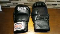 Leather Fight Combat Sports MMA Gloves - size L -  Caledon, L7E 1X7
