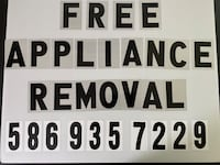 Appliance removal