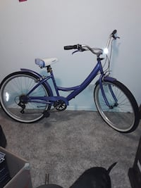 "7 Speed, ""Bayside""/ ""KENT, BICYCLES 26 CRUISSR""."