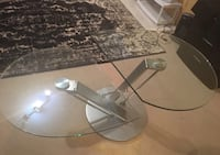 Glass coffee table Mississauga, L5R 1M6