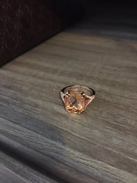 Rose gold plated ring size 7 Edmonton, T5A 4R9