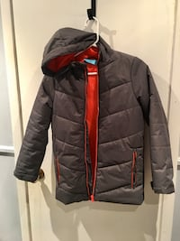 Brand New Grey and Orange size 11-12 coat from Mountain Warehouse $25 Mississauga, L5L 1G9