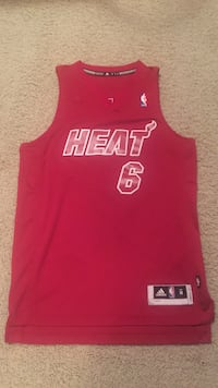 Lebron James Miami Heat Christmas Jersey Adult Medium Burr Ridge, 60527