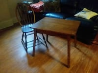 Child's table and chair. Negotiable. Louisville, 40208